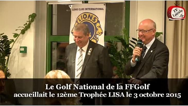 La FFGolf représenté par son Président Jean-Lou CHARON est un grand partenaire de LISA @ffgolf #TvLocale_fr